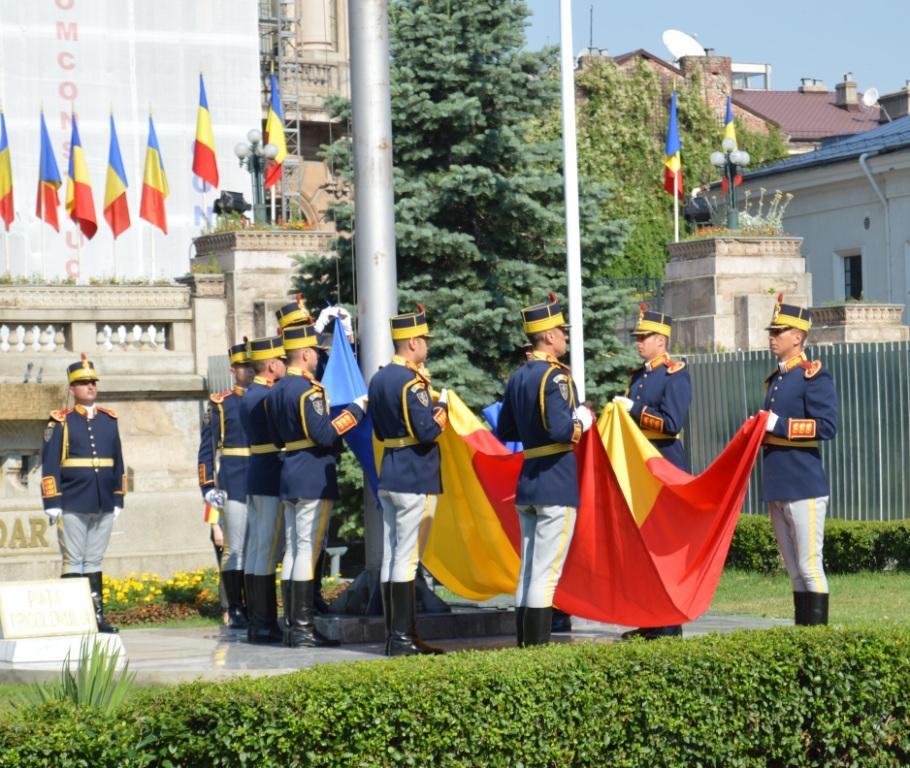 Manifestări dedicate Zilei Drapelului și Zilei Imnului, București 2017